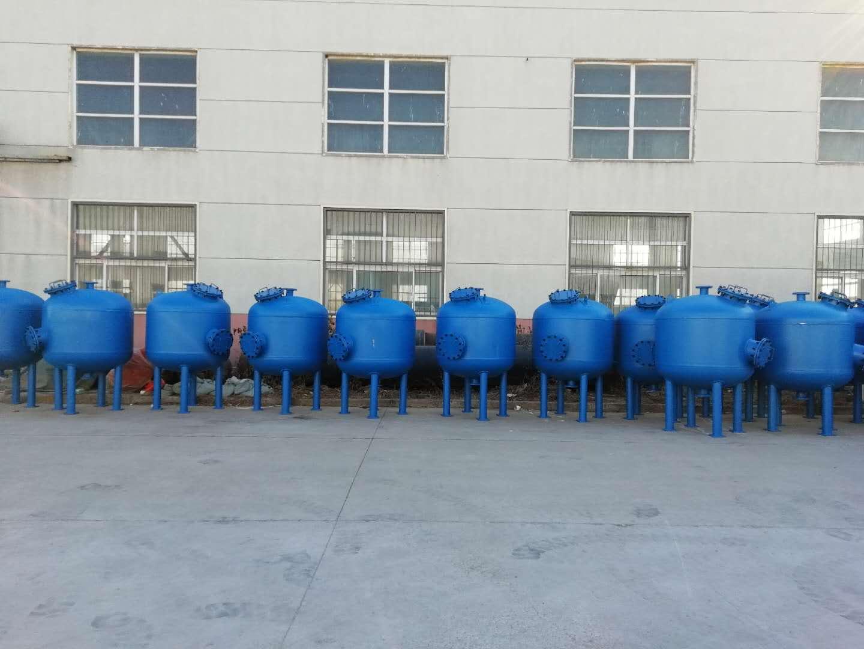 浅层砂水过滤器滤罐